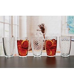 Living Quarters 10 Piece Hive Glass Set