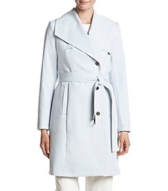 Calvin Klein Fold Over Collar Trench Coat