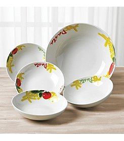 Tabletops Gallery 5 Piece Round Pasta Set & Open Stock   Dinnerware   Dining \u0026 Entertaining   Home   Younkers