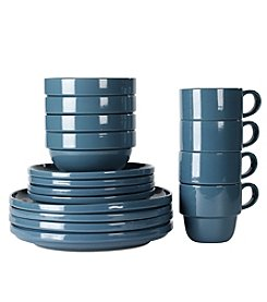 Tabletops Gallery 16-Pc. Stax Dinnerware Set