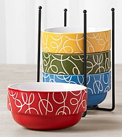 Tabletops Gallery 5-Pc. Stacking Bowls Set