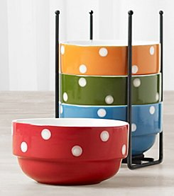 Tabletops Gallery 5-Pc. Stacking Bowl Set