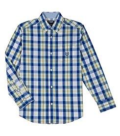 b053e2ecc Chaps Boys' 8-20 Justin Woven Button Down Shirt