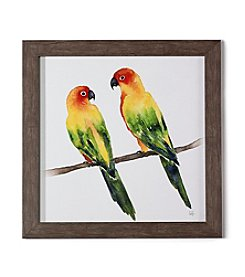 Living Quarters Framed Watercolor Birds