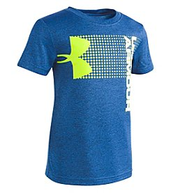 Under Armour Boys' 2T-4T Short Sleeve New Hybrid Big Logo Tee