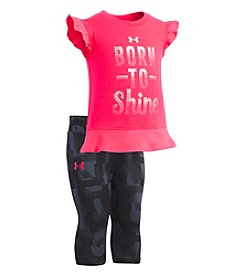 Under Armour Baby Girls' 2-Pc. Born to Shine Set