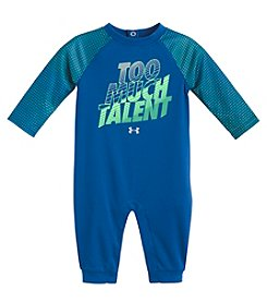 Under Armour Baby Boys' Long Sleeve Too Much Talent Coverall