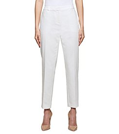 Tommy Hilfiger Straight Leg Pleat Front Pants