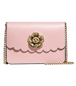 COACH BOWERY CROSSBODY WITH TEA ROSE TURN LOCK IN CALF LEATHER