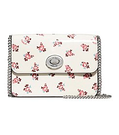 COACH BOWERY CROSSBODY WITH FLORAL BLOOM PATENT PRINT