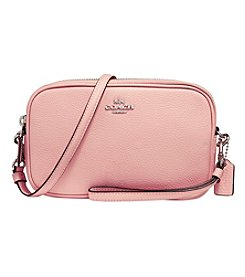 COACH CROSSBODY CLUTCH IN POLISHED PEBBLE LEATHER