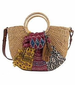 Sam Edelman Jaelynn Straw Shoulder Bag