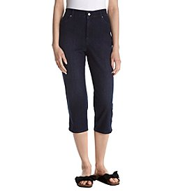 Gloria Vanderbilt Amanda Denim Capri Pants