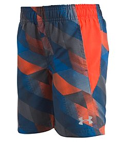Under Armour Boys' 2T-7 Electric Field Volley Swim Trunks