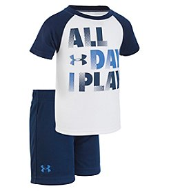 Under Armour Baby Boys' 12M-24M All Day I Play Set
