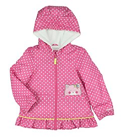 Carter's Girls' 2T-4T Midweight Jacket with Fleece Lining