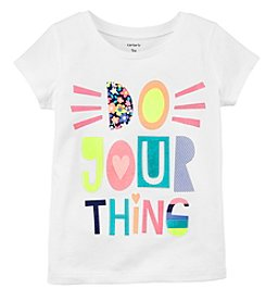 Carter's Girls' 4-8 Do Your Thing Jersey Tee