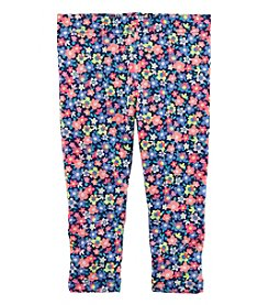 Carter's Girls' 4-8 Floral Capri Leggings