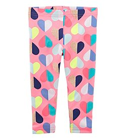 Carter's Girls' 4-8 Heart Capri Leggings