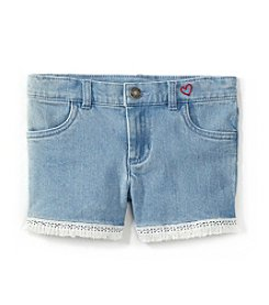 Carter's Girls' 4-8 Stretch Denim Shorts