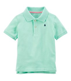 Carter's Boys' 2T-8 Special Occasion Polo with Sailboat Detail Tee