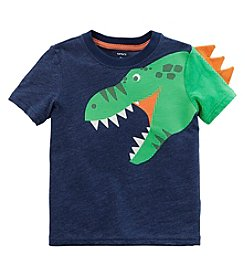 Carters Boys' 3M-8 Short Sleeve Disnosaur Spike Tee