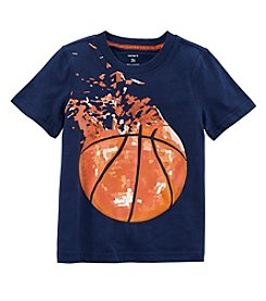 Carters Boys' 2T-8 Short Sleeve Basketball Tee