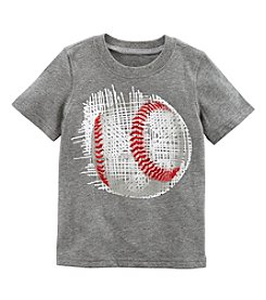 Carters Boys' 2T-8 Short Sleeve Baseball Tee