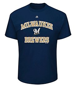 Majestic Brewers Heart And Soul Tee