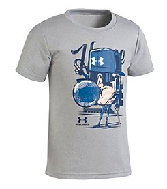 Under Armour Boys' 2T-7 Home Base Character Short Sleeve Tee