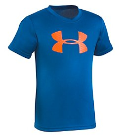 Under Armour Boys' 4-7 Big Logo Short Sleeve Tee