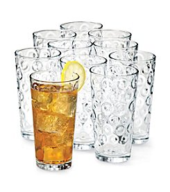 LivingQuarters Circles Set of 10 Drinkware Set