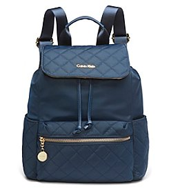 Calvin Klein Nylon Messenger Backpack