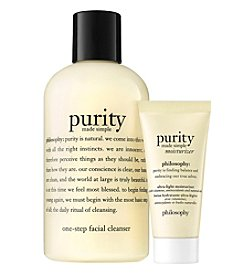 philosophy Purity Cleanser And Moisturizer Duo
