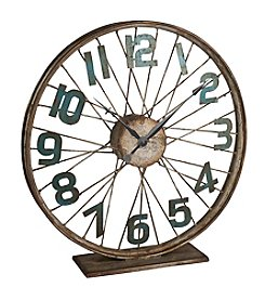 Gerson Vintage Bicycle Wheel Clock