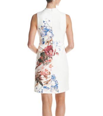 Short White Gauze Dress