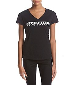 Warrior by Danica Patrick Warrior Logo Top
