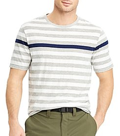 Chaps Men's Engineered Stripe Short Sleeve Tee