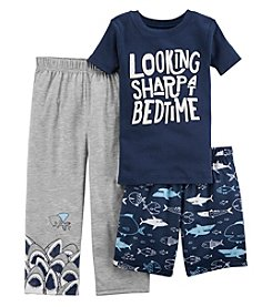 Carter's Boys' 2T-20 3-Pc. Looking Sharp Jersey Pajama Set