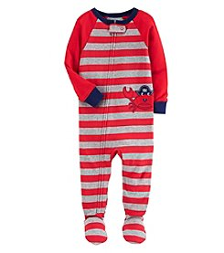 Carter's Baby Boys' One Piece Crab Snug Fit Cotton Pajamas
