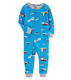 Carter's Boys' One Piece Ships Snug Fit Cotton Footless Pajamas