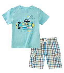Kids Headquarters Boys' 2T-7 Tee With Shorts Set