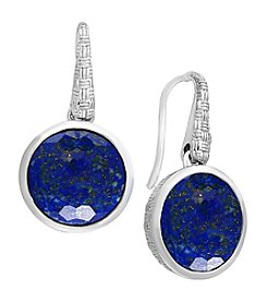 Effy 925 Sterling Silver Lapis Lazuli Earrings