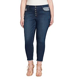 Jessica Simpson Plus Size Adored Curvy High Rise Ankle Jeans