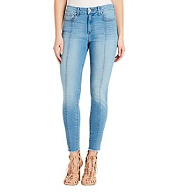 Jessica Simpson Adored Curvy High Rise Frayed Jeans