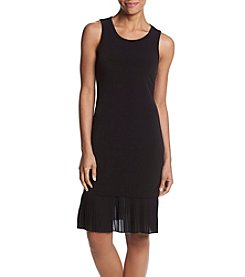 MICHAEL Michael Kors Pleat Hem Tiered Dress