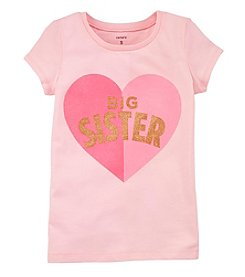 Carter's Girls' 4-8 Big Sister Jersey Tee