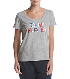 Tommy Hilfiger Logo Graphic Pajama Top