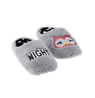 9d6848cb0e6 PJ Couture Night Owl Sherpa Slides