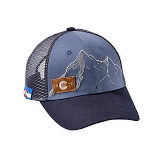 ecfdd4478f7 Cirque Mountain Apparel Colorado Summit Trucker Cap
